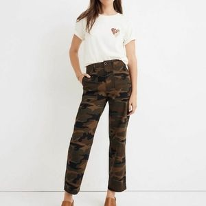 Madewell High Rise Griff Fatigue Pants